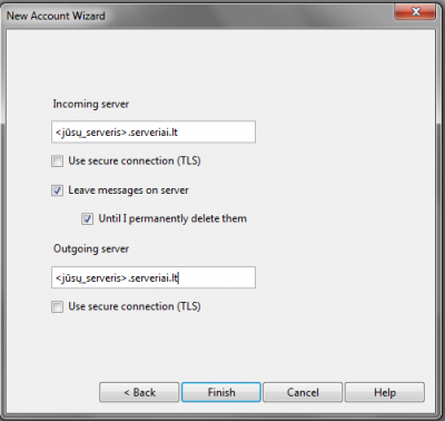 Opera mail - IV pagalba klientams