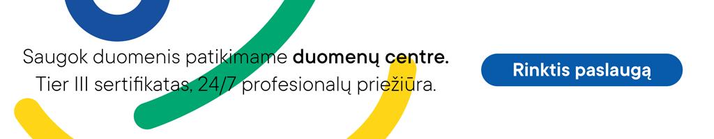 Sertifikuotas duomenų centras