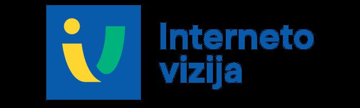 Interneto vizijos logotipas