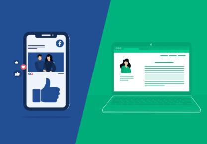 Socialiniai tinklai vs. svetainė: kas geriau verslui